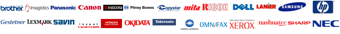 Copier Lease Washington DC Supported Brands